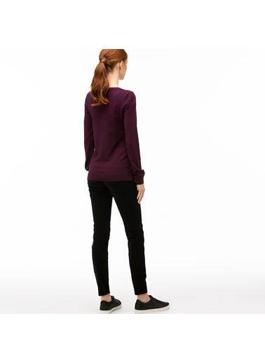Lacoste Kadın Slim Fit Pantolon HF2004.04S Siyah